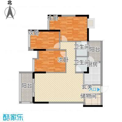坤龙西城国阙2-A户型