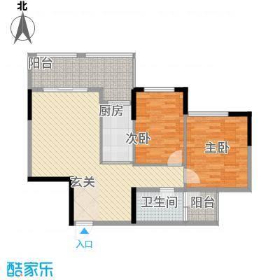 坤龙西城国阙1-B户型