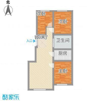 润和西部尚城6号楼C户型