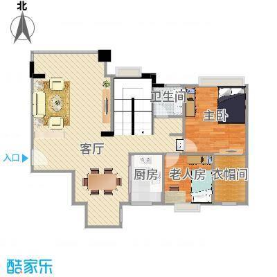 中能香榭丽3B-802