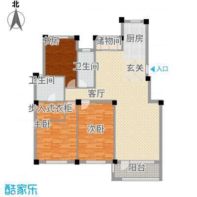 缇香漫城15.00㎡21号楼M户型3室2厅2卫1厨