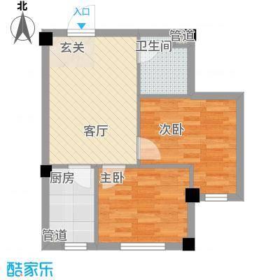 缇香漫城5.51㎡22号楼、32号楼L户型2室1厅1卫1厨