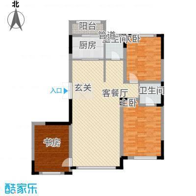倚澜观邸二期5#楼高层1户型