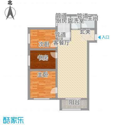 金业缇香山4号楼B户型