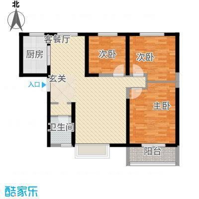金业缇香山1、2号楼C户型