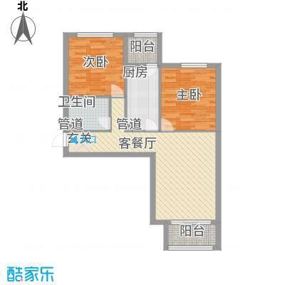 龙堂新苑C户型