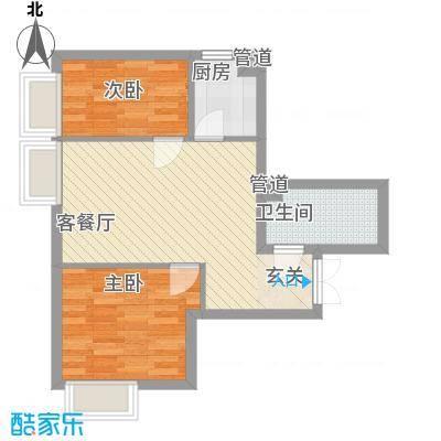 天津东方环球影城高层标准层B户型