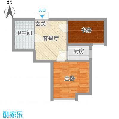 天津东方环球影城高层标准层E户型