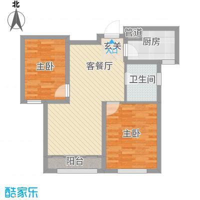 海昌天澜二期高层标准层A户型