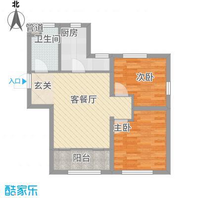海昌天澜二期高层标准层G户型