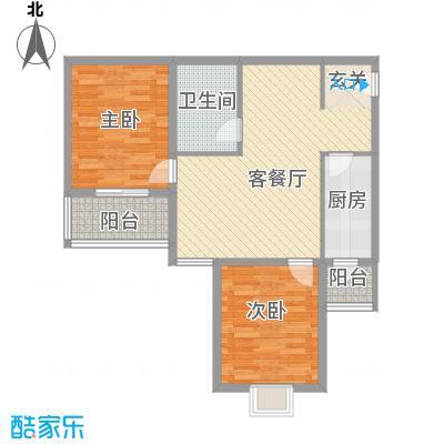 太原礼顿山14.20㎡二户型2室2厅1卫1厨