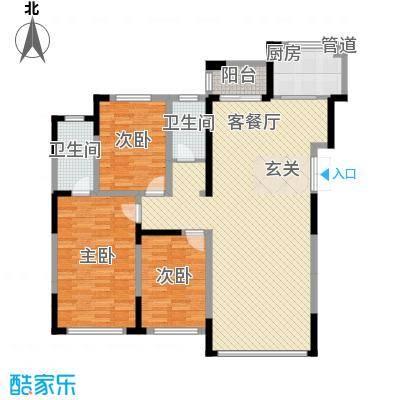 倚澜观邸二期2#楼高层2户型