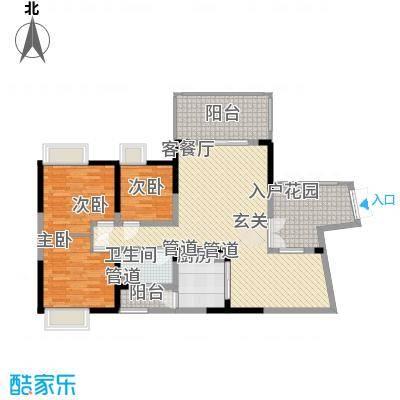 娱乐城3-2-1-1-6户型3室2厅1卫1厨