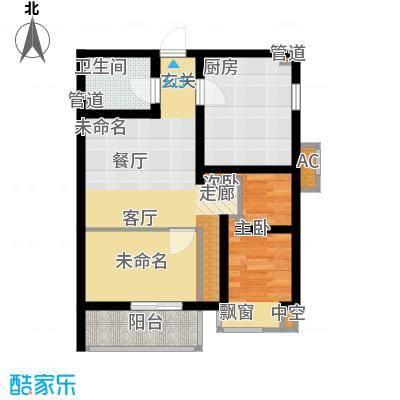 国宾豪庭52.86㎡G面积5286m户型-副本