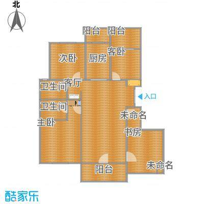 西溪华东园的户型图H8-副本