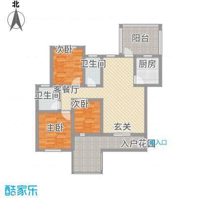 安大磬苑户型3室
