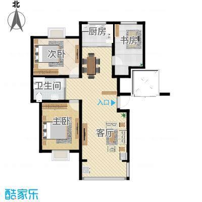 8号楼802-新-户型图4