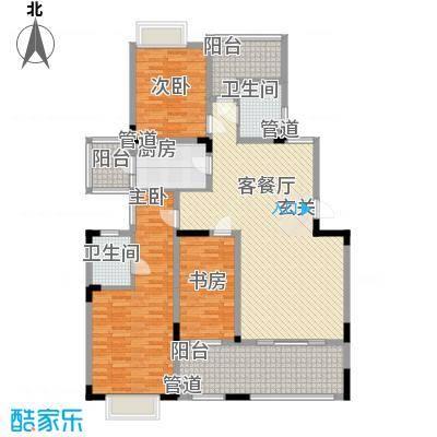 复地上城国际公寓4户型2室