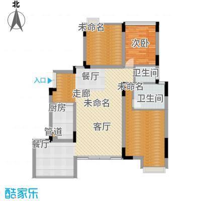 浩博方山境125.00㎡一期2号楼标准层A3户型-副本