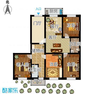 沈阳-龙盛家园-设计方案-副本