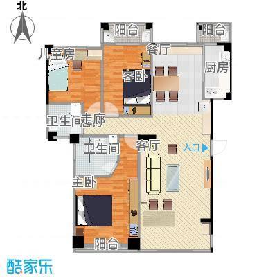 805定型图(客厅作书房原始图)-副本-副本-副本-副本