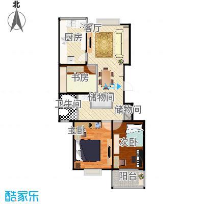 曹杨五月天-2室2厅改