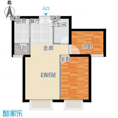 青青佳苑61.00㎡面积6100m户型-副本