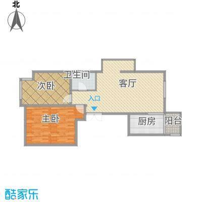 西安-建邦华庭-102平2室2厅1厨1卫
