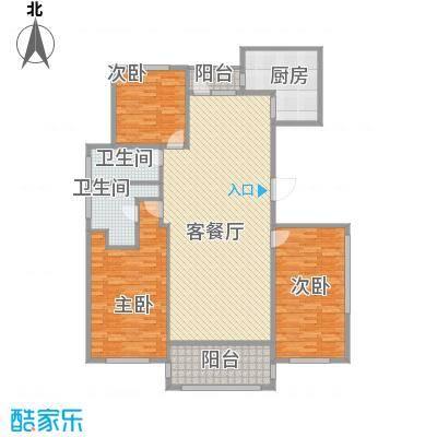 半岛公馆-三室两厅两卫-192㎡