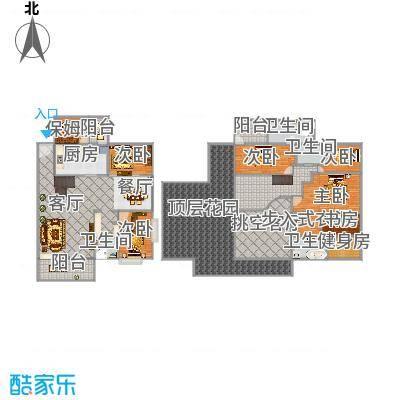 君临宝邸33J楼中楼