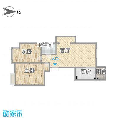 西安-建邦华庭-102平2室2厅1厨1卫-没钢琴缺逼格之家-副本