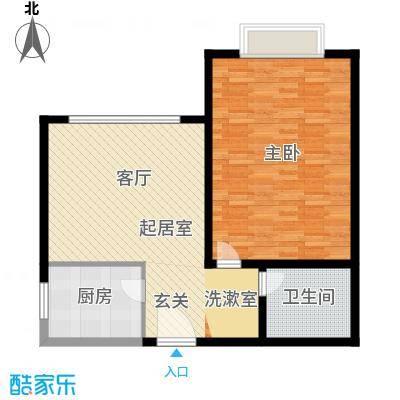九杨新村90.00㎡1面积9000m户型-副本