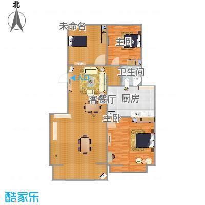 银河领域7-F1三室两厅两卫126.69平-副本
