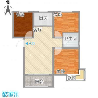 沈阳碧桂园银河城-J591户型94平-设计方案