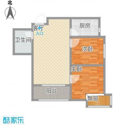 沈阳碧桂园银河城-J541户型78.6平-设计方案
