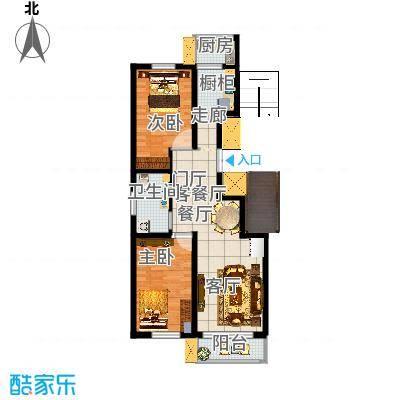 唐山_康迈家园A2_郑海山设计矮墙