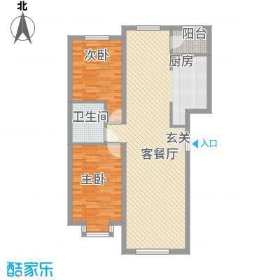 福顺尚景2号楼户型