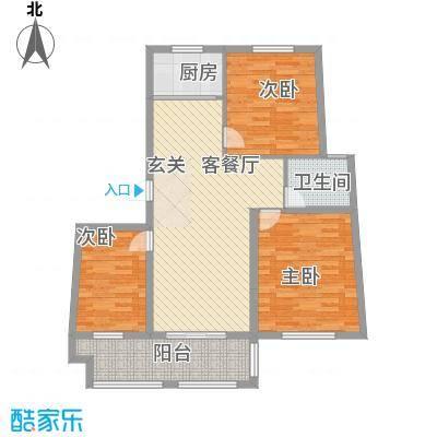 港湾明珠二期37#楼G373户型