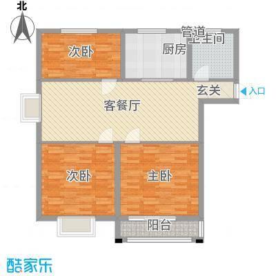 港湾明珠二期16#楼B2户型