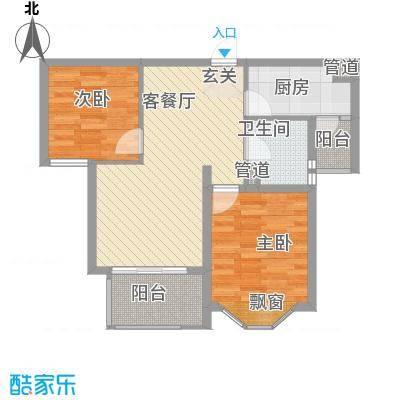 嘉隆・水韵风情一期8号楼高层D户型