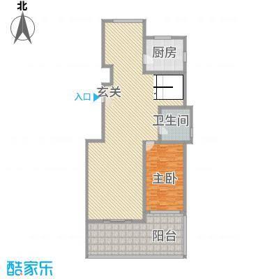 蓝柏湾15.00㎡A12A17号楼A跃层下户型4室2厅3卫