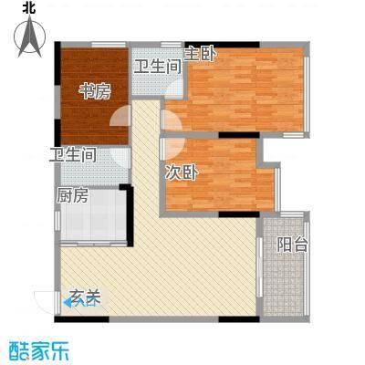 坤龙西城国阙2-C户型