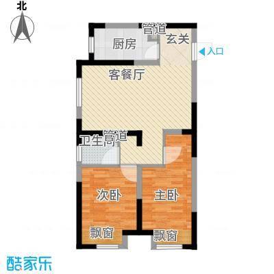 金地・铂悦南区高层J户型