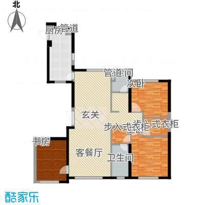 中庚当代艺术176.00㎡2号楼G户型3室2厅2卫1厨