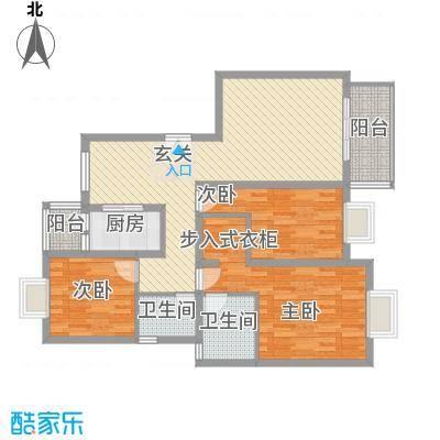 香山锦苑二期香山锦苑3户型