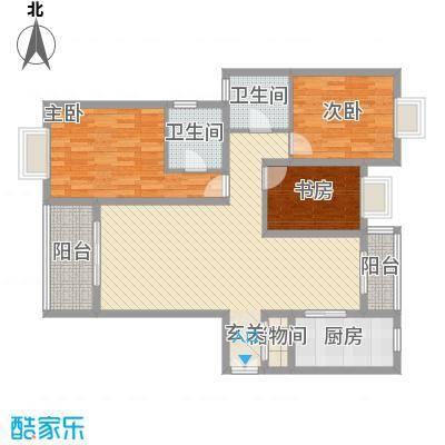 香山锦苑二期香山锦苑5户型