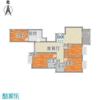 香山锦苑二期香山锦苑2户型