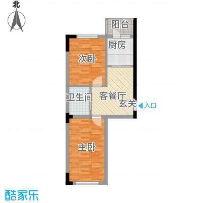 阳光嘉年华67.20㎡2户型