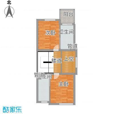 凤河孔雀城联排别墅美庭堡E三层户型