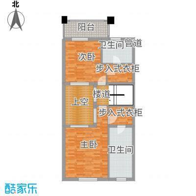 凤河孔雀城联排别墅双庭堡F三层户型